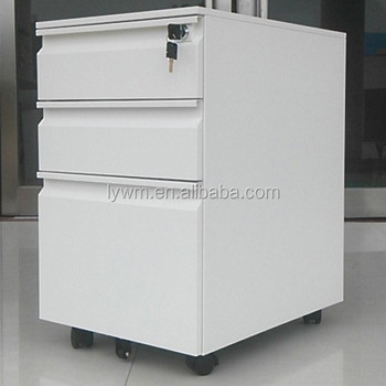 Office Furniture 3 Drawer Steel/metal Mobile Pedestal Metal Cabinet