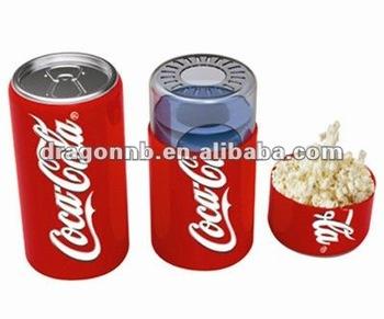 Dra-pm08 Model Hot Air Popcorn Maker (coke Can Design)