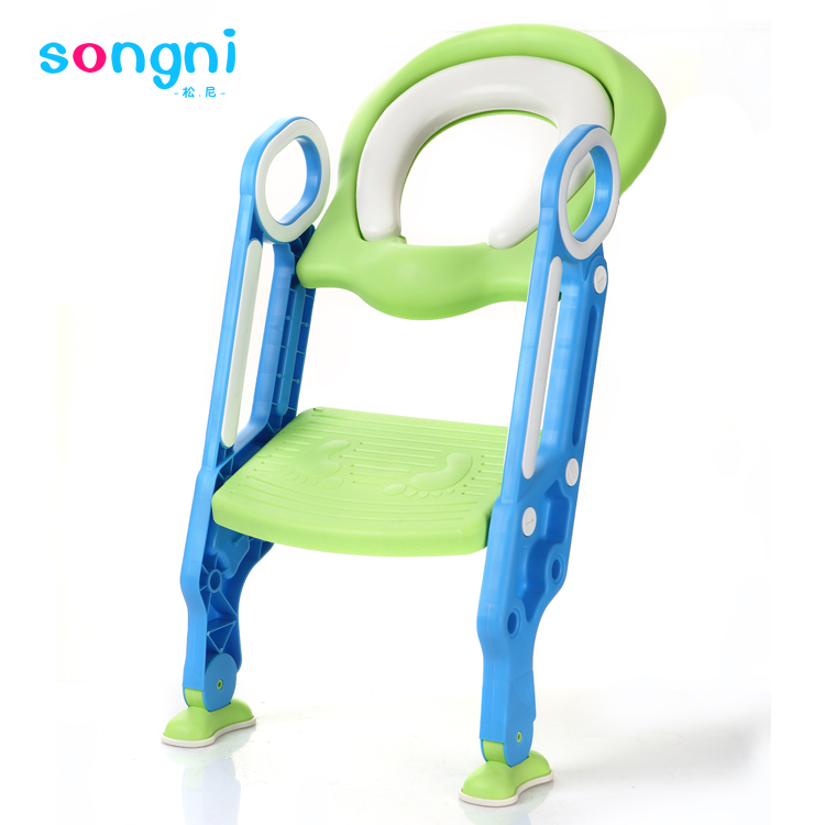 Manufacturer Supplier baby potty toilet with ladder good quality