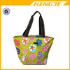 2015 11 inch vibrantly colored patterns Zip-Top Tote bag shopping bag