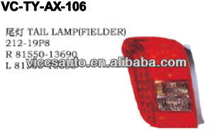 Tail Lamp For Toyota Axio/Fielder 06
