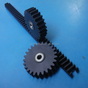 100% Virgin Raw Material Nylon66 PA66 rack and pinion gears