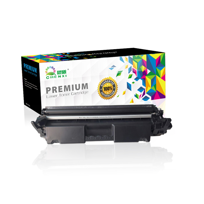 Premium Black toner cartridge CF217A 217A 17A for hp from Shenzhen factory