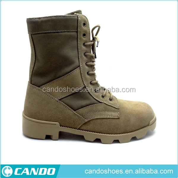 Lightweight Men's army boot jungle boot/Suede leather military army desert boots/kenya army military bootsfrench army boots