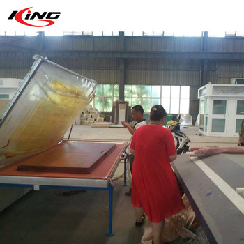 Powder Coating Heat Transfer Printing Wood Grain Sublimation Machine