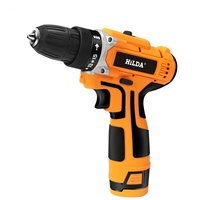 HILDA-16.8V Electric Drill with Lithium Battery Rechargeable 12V Electric Cordless Screwdriver