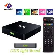 1080p android tv box <span class=keywords><strong>dvb</strong></span> <span class=keywords><strong>t2</strong></span> M9S intégré WiFi M9S TV Box avec 4 haute vitesse USB 2.0 android tv box double tuner M9S