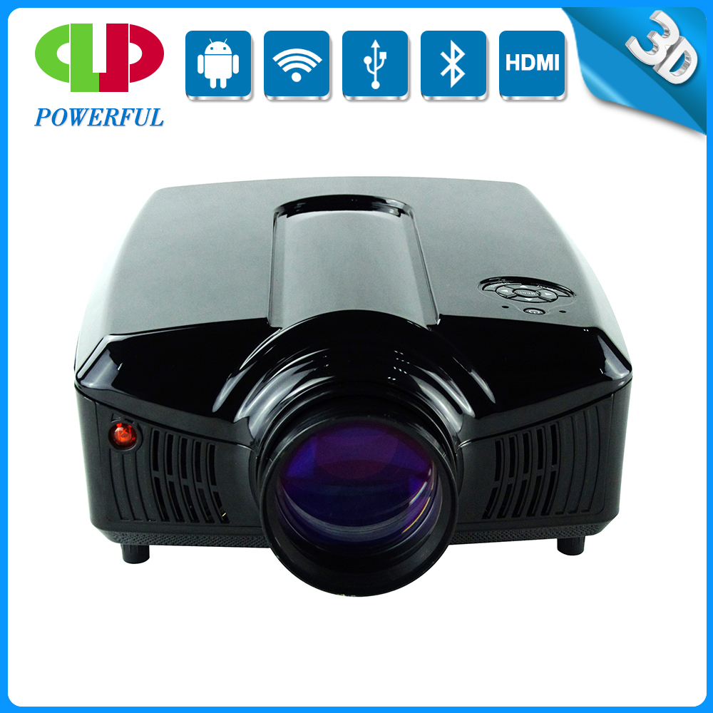 Newst and Lowest price 1280*800 HD digital LED projector connecting TV/PC/DVD/PHONE/USB etc for home theater entertainment