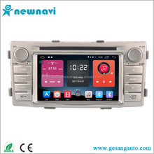 Großhandel Android 6.0 Auto DVD-Player für Toyota hilux <span class=keywords><strong>2012</strong></span> mit GPS Unterstützung Plays, 4G, WIFI