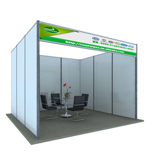 Shell Scheme Exhibition Stands : Aluminum shell scheme display modular exhibition stands