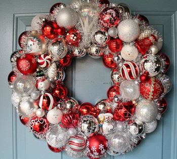 Party decoration wholesale wreath christmas bead garland