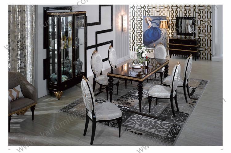 Ekar Furniture Alibaba Hotel Wood Chair