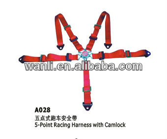 Universal 5 Point Racing Harness Seatbelt