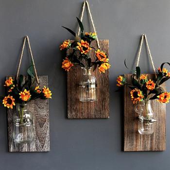 Mason Jar Wall Sconce Vases