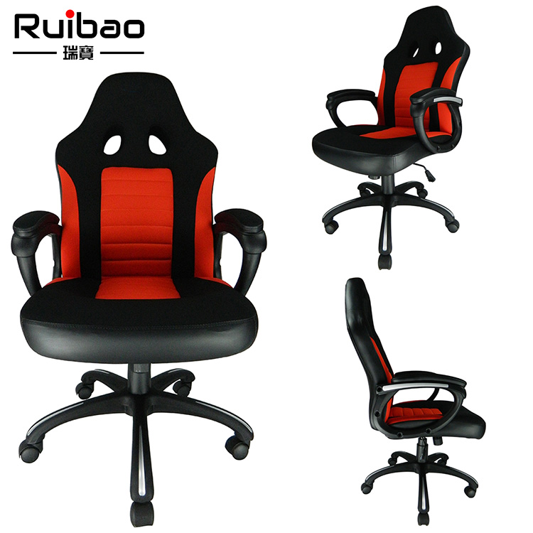 2018 Anji Ruibao Furniture Commercial Office Fabric Visitor Chair with Armrest