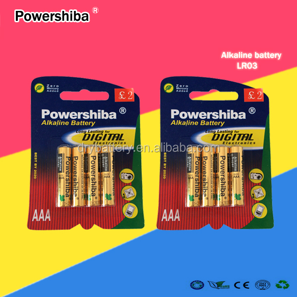 lr03 aaa dry cell battery for pakistan market