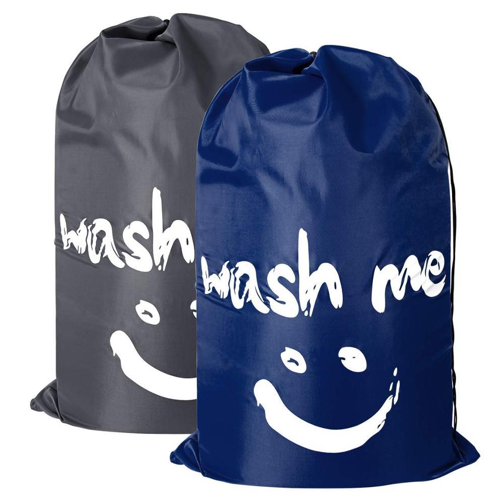 립 스톱 세탁기 5 스타 호텔 나일론 drawstring 세탁 가방