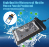 Advertisement pvc high quality waterproof phone case