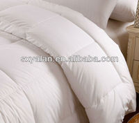 white duck down feather quilt comforter for hotel
