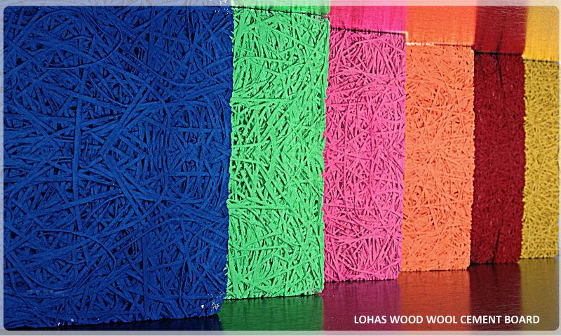 D coratif bois laine panneaux de ciment panneau isolant panneaux de ciment - Panneau isolant decoratif ...
