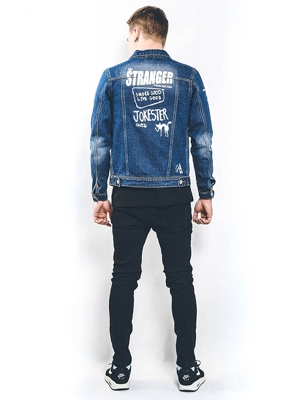 Custom Printing Denim Jacket Mens Wholesale Denim Jackets Suppliers