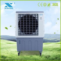 Energy saving standing plastic mini portable air cooler with wheels