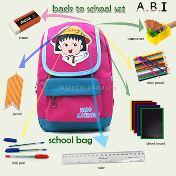government bid Children back to school sport student backpack Bag School kit