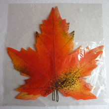 Artificial Fake autumn fall maple leaf for decoration