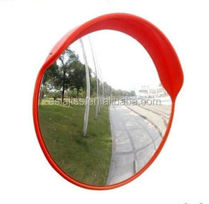 80cm Wide-angle PC or acrylic outdoor traffic safety convex mirror for car