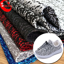 Popular Selling Sports Shoe Upper Material Knitted Fabric