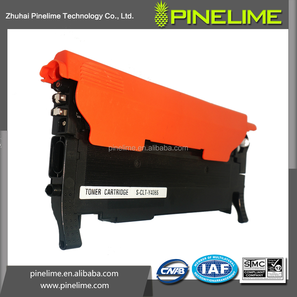 New Printer Spare Part for Samsung Toner Part CLP-365W CLT-K406S CLT-C406S CLT-Y406S CLT-M406S Toner Cartridge Buy From Alibaba