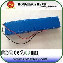 No memory effect battery 3s12p lithium ion battery for airboard 11.1volt