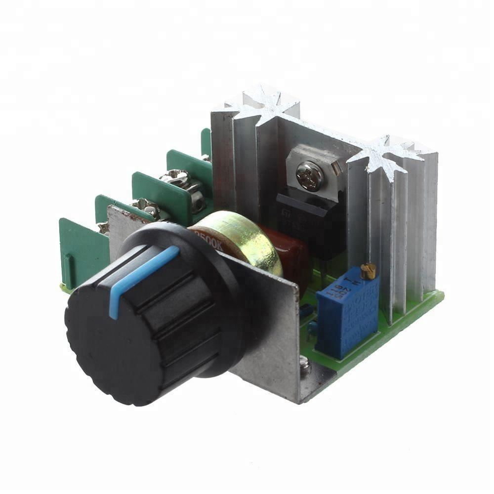PWM DC motor governor 5V-35V speed switch 5A switch function LED