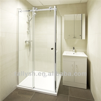 smooth gliding sliding glass shower door handles