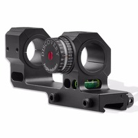 Discovery adjustable scope mounts with angle indicator and bubble level for 25.4mm and 30mm Riflescope Mount