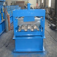 Steel Structure Metal 688 Deck Roll Forming Machine floor decking Steel Galvanized Floor Decking Roll Forming Machine