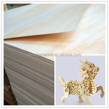 4x8 3mm Toys Plywood,Basswood Plywood,Birch Plywood/bleach Poplar Plywood  Basswood Plywood Toy 3d - Buy Toy Plywood,Basswood Plywood,Craft Plywood