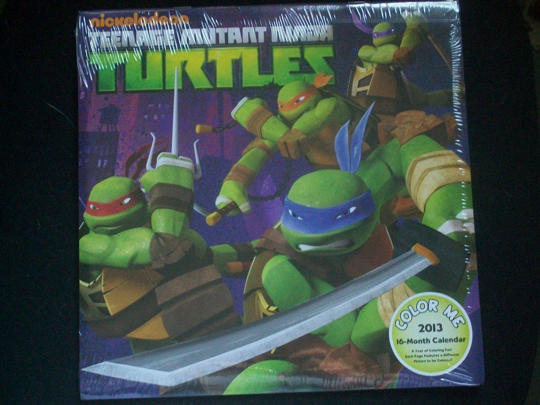 buy teenage mutant ninja turtles color me 16 month calendar in cheap