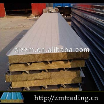 Rock wool composite insulation roof panel mineral wool for Buy mineral wool insulation