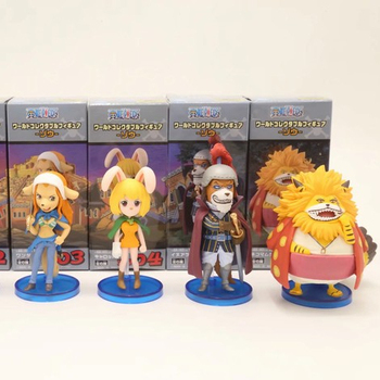 Factory Action Figure WCF One Piece figure toys 133 generation a set of 6 models 8CM 300G 5x5x11cm price for 1 set