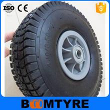 New design with great price 260*85 mm pu foam wheel tire