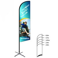Sydney Marathon Feather Flag Advertising Polyester Flying Beach Banner Flags