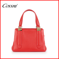 Popular Western Style Ladies Genuine Leather tote Bag Women Tote Hand bag Lady