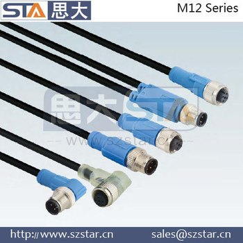 Hummel M12 Y Connector With Wire Harness - Buy Hummel M12 Y ... on wire antenna, wire cap, wire clothing, wire sleeve, wire leads, wire ball, wire lamp, wire connector, wire holder, wire nut,