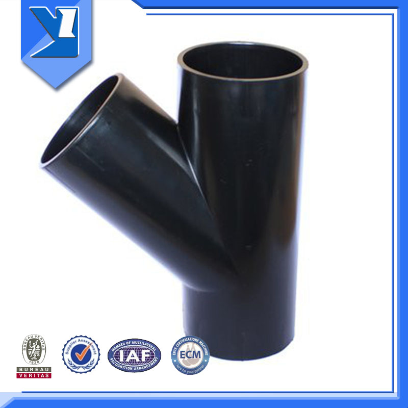 Welding Connection Pipe Joint Y Tee Cs Pipe Fitting