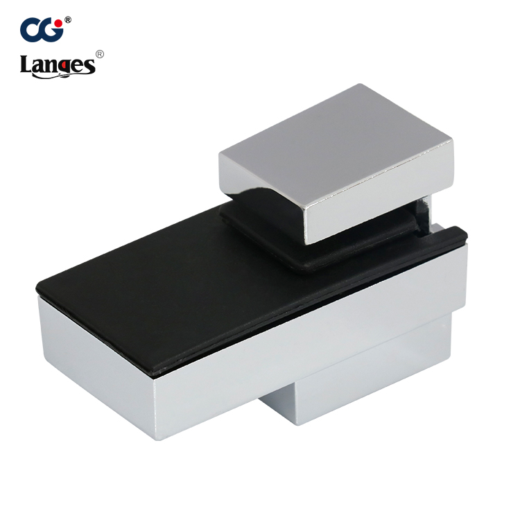 Hole Sale Zinc Alloy Glass Clip for wooden plywood Glass Clamp