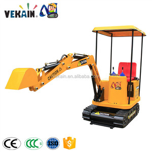 indoor&outdoor kiddie games Amusement Park Rides Kids Excavator For Sale