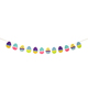 Home Easter colorful eggs bunting garland Easter Decorations Wholesale