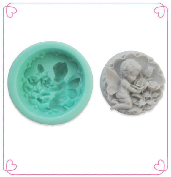2015 Angel cooking tools fondant cake design mold cake decorating tools silicone cake tools kitchen accessories mold
