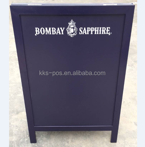 Bombay Sapphire A1 Metal A-frame Chalkboard For Indoor and Outdoor